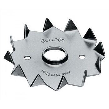 Holzverbinder DIN1052 Bulldog Typ C2-62M12G-B Außen-D.62mm Innen-D.M12mm, 150 Stück