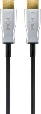 Hybrid HDMI? Kabel, vergoldet, 70m, Schwarz