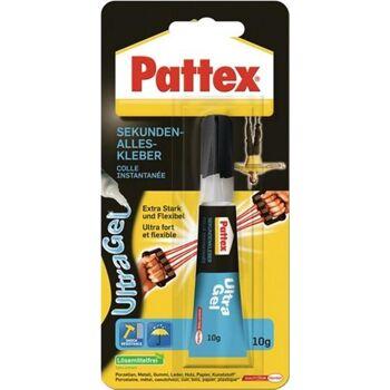 Pattex Ultra Gel 10 g für Holz, Pappe, Lefer, Keramik, Gummi