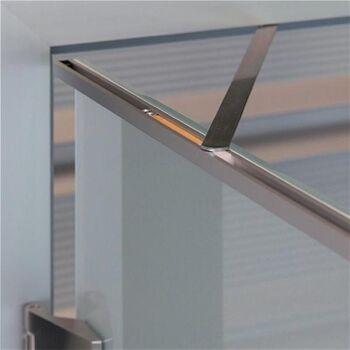 Türöffnungsbegrenzer Türblatt-B.709-959 mm, Holzzargen, 120 Grad