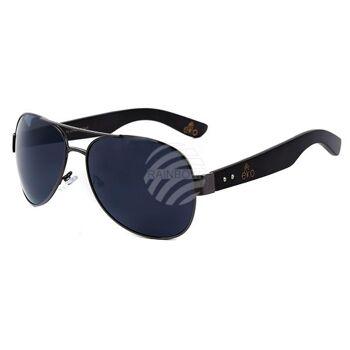 LOOX Sonnenbrille Myanmar Bügel aus Bambusholz