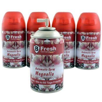 28-351709, Duftspray Magnolia, Nachfüllkartusche 250 ml, passend für handelsübliche Automatik-Sprühgeräte