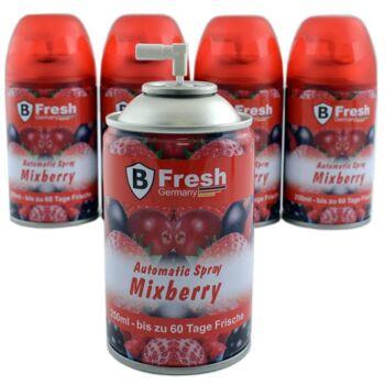 28-351730, Duftspray Mixberry, Nachfüllkartusche 250 ml, passend für handelsübliche Automatik-Sprühgeräte
