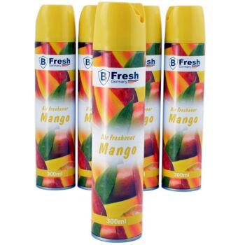 28-357374, Raumspray Mango 300 ml, Raumspray auf Aerosol-Basis, intensiver Duft