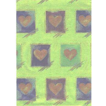 Geschenkfolie - Alu -  Alugeschenkfolie - Geschenkpapier Display Karton.