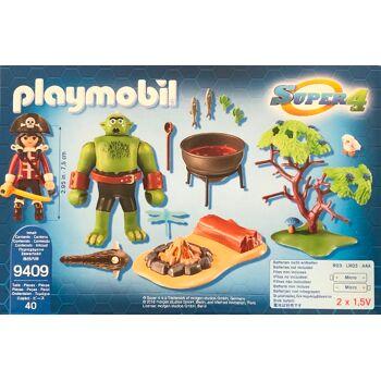PLAYMOBIL  9409  RIESEN-OGER SUPER 4  MIT RUBY