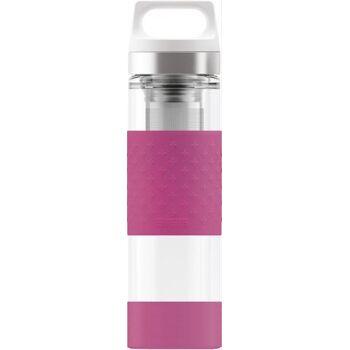 SIGG H&C Trinkflasche Glass WMB Berry 0,4l