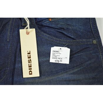 Diesel Belther 0827K Regular Slim Tapered W29L32 Herren Jeans Hosen 2-1399