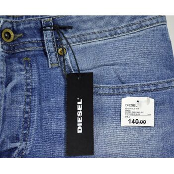 Diesel Buster Regular Slim Tapered 0842H Stretch W30L32 Herren Jeans Hosen 48081800