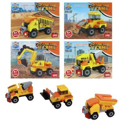 27-83105, Bausteine Baufahrzeuge, Bausatz