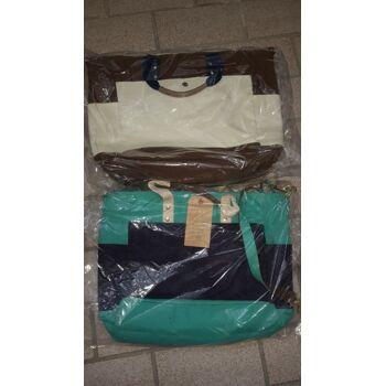 Marken Posten Damentaschen / Handtaschen Mix, Canvas sortierte Farben ca. 90% reduziert, z.T. auf Amazon gelistet