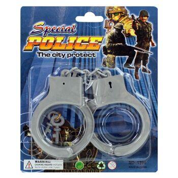 27-80443, Handschellen Set mit Schlüssel
