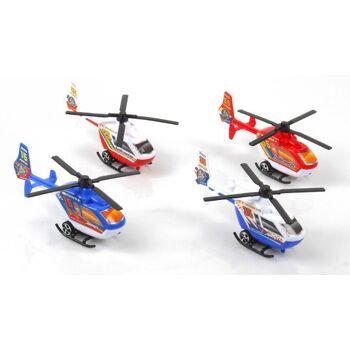 27-80574, Hubschrauber Helikopter mit Rückzugsantrieb