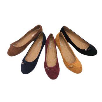 Damen Woman Sommer Ballerina Übergröße Big Plus Size XL Schuhe 41-44 Schuh Shoes Slipper Business Freizeit Schuh nur 9,90 Euro