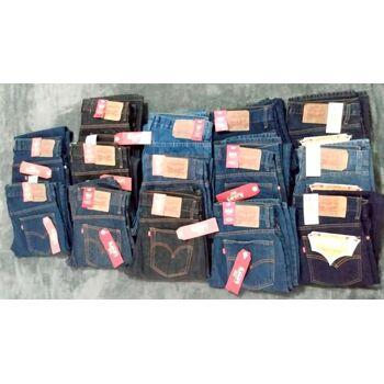 Marken Jeans Herren Hosen Mix - !!! Nur noch 380 Stück übrig !!! perfekt für Outlet