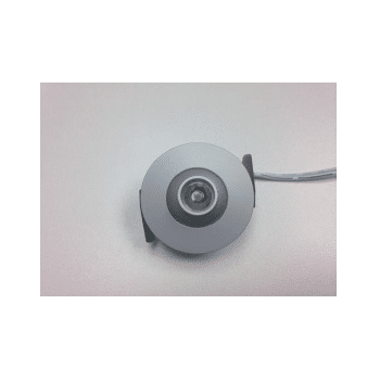 LED Innenraumbeleuchtung, Einbauspot nickelfarbig