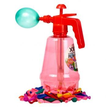 12-70031, XXL Wasserbomben-Pumpe inkl. 100 Ballons