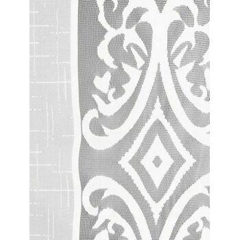 80 x Dekogardine Seitenschal Weiß Restposten-Sonderposten-Palettenware