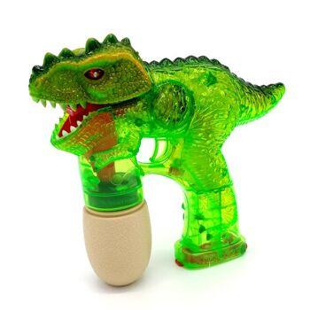 Seifenblasenpistole Dinosaurier mit Licht & Sound