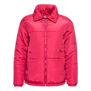 Damenjacke Winter wattiert Jacke Damen pink Herbstjacke