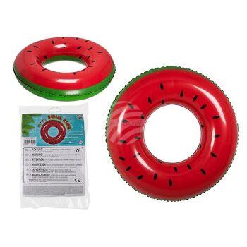 Aufblasbarer Schwimmring, Wassermelone