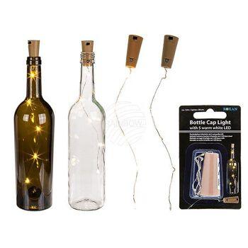 Flaschenkorken Mit Led : flaschenkorken lichterkette mit 5 warmwei en led 15683399 ~ Watch28wear.com Haus und Dekorationen