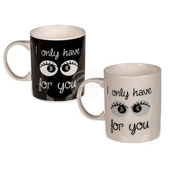 New Bone China-Becher, I only have eyes for you