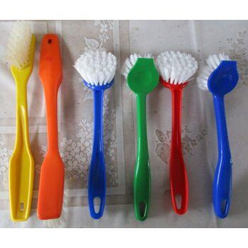 Spülbürsten rund + länglich, Kunststoff, versch. Farben  + Handwaschbürsten Set 94 St.