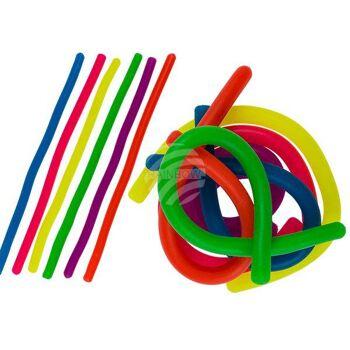 Stretch-Schnur, Colours, ca. 28 cm