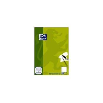 12-050301, OXFORD Schule Zeichenblock A3, 20 Blatt, blanko, 120 g/m²
