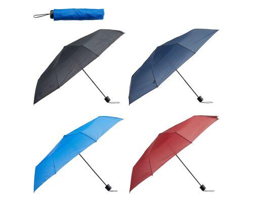 12-29004, Taschenschirm 100 cm, Regenschirm, 220gramm schwer, Stockschirm