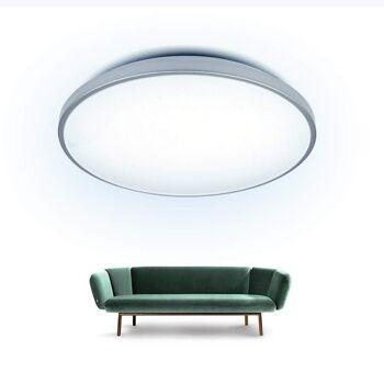 Deckenlampe LED 60W, Deckenleuchte für Wohnzimmer, Flur, Badezimmer, Kaltweiß, 230V, Ø552*118mm