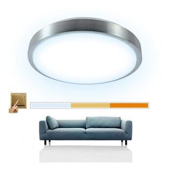 Deckenlampe 12W Scene Switch Leuchte Deckenleuchte Deckenleuchten Wohnzimmer Deckenlampe für Badezimmer (3 in 1) [Energieklasse A++]