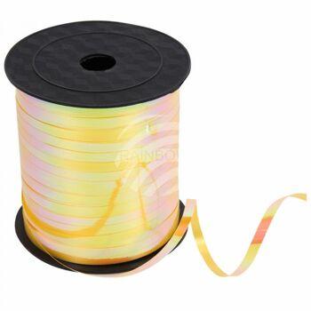 Geschenkband Dekoband gelb orange Farbverlauf