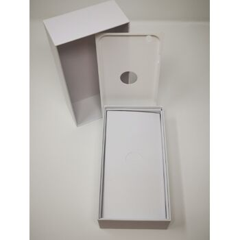 Schachtel für iPhone 6,6s,7 oder 8 PLUS weiß inkl. Original Stecker und Ladekabel
