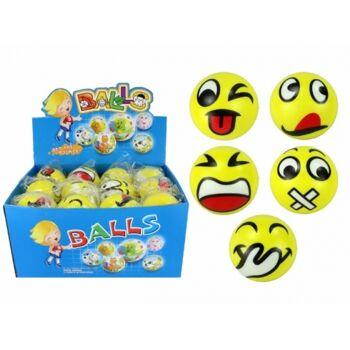 Soft Grimassenbälle, 7,0 cm, Softball, Knautschball, Antistressball, Lachgesichter