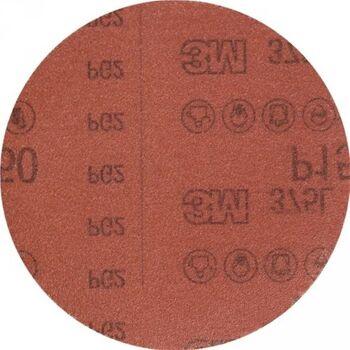 3M Haftschleifscheibe Hookit 375L, 150mm Körnung 600, für Holz/Lack, 50 Stück