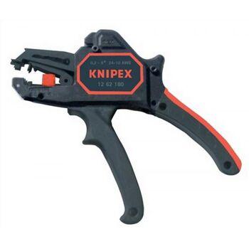 Abisolierzange autom. L.180mm 0,2-6mm2 KNIPEX Ergo-Ku.-Griff