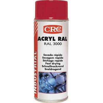 Farb-Schutzlack-Spray RAL 3000 Feuerrot glänzend 400 ml, 6 Stk