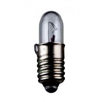 Kleinstlampen Sockel E5,5 24,0 Volt 1,2 Watt 15mm klar,100er Pack