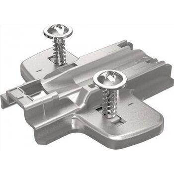 Kreuzmontageplatte D. 3 mm für Eck- und Mittelwandanschläge 9071587