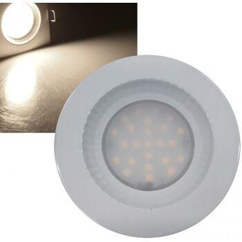 LED-Einbauleuchte ''Flat-40 FR'' 4000K 85x40mm, 5W, 460lm, weiß