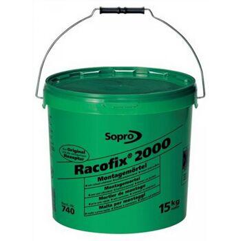 Montagemörtel Racofix 2000 Inhalt 15kg grüner Eimer Verarbeitungszeit ca. 2min.