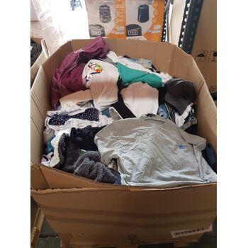 Textilien Mischpaletten Mixpaletten Kleidung Restposten - 80kg pro Palette