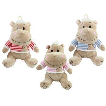 27-28283, Plüsch Nilpferd Funny Hippo 30 cm sitzend
