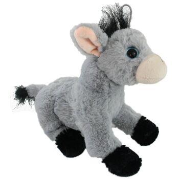 27-28285, Plüsch Esel mit großen Augen