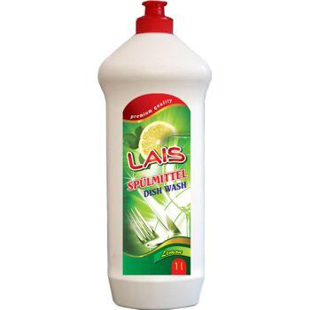 Geschirrspülmittel, Spülmittel LAIS  Lemon 1000 ml