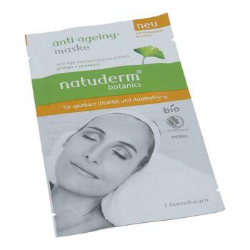natuderm botanics anti ageing maske 16ml (2x8ml), BIO,ginko+sanddorn
