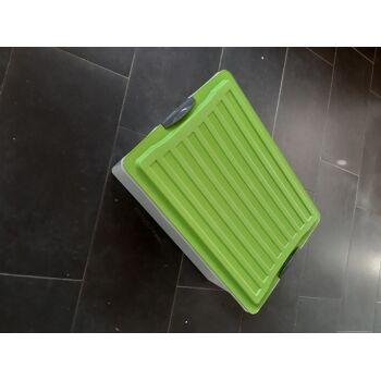 Rotho Aufbewahrungsbox mit Deckel Compact grün A3 38 L