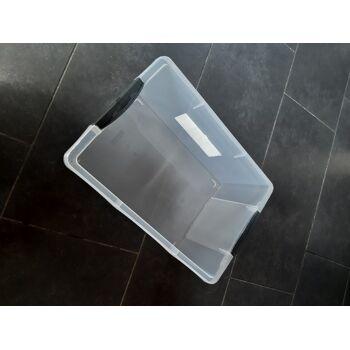 Rotho Aufbewahrungsbox ohne Deckel Compact transparent A4 13 L